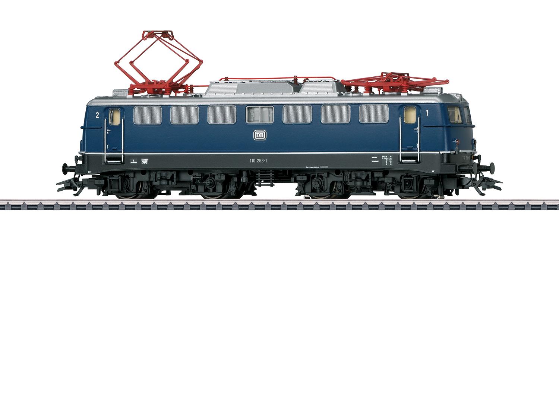 Märklin 37108 E-Lok BR 110 der DB / Spur H0 / mfx+ Sound / Epoche IV