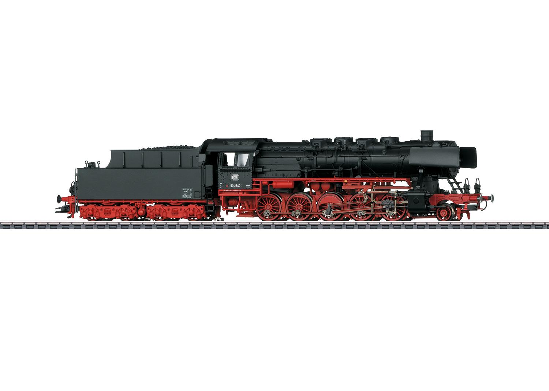 Märklin 37897 Güterzug-Dampflok BR 50 DB / Spur H0 / mfx+ Sound / Epoche III