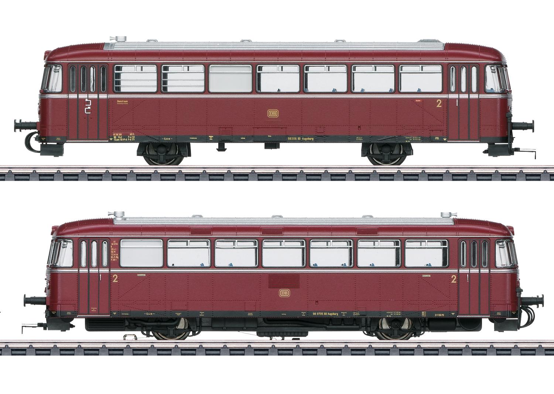 Märklin 39978 Schienenbus VT98+VS98 DB / Spur H0 / mfx+ Sound