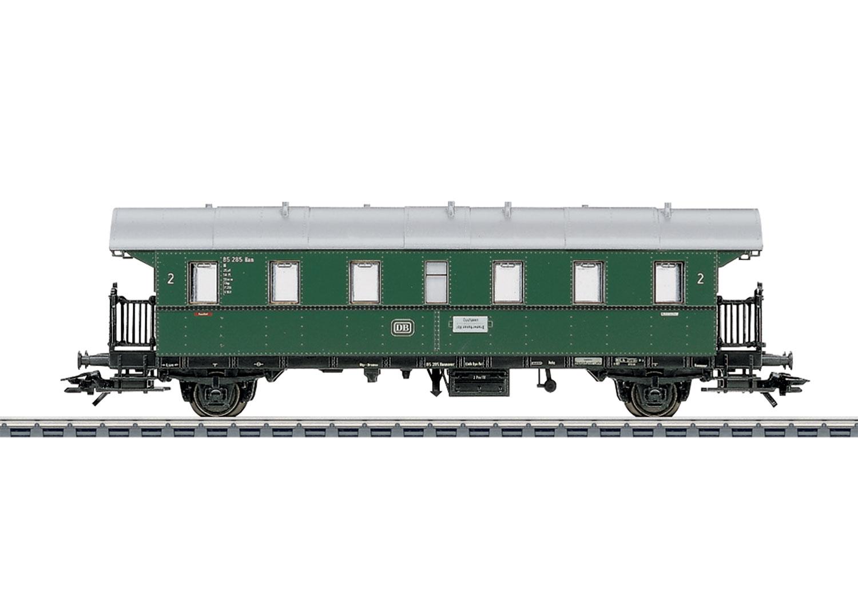 Märklin 4314 Personenwagen 2.Kl. DB / Donnerbüchse / Spur H0 / Epoche III