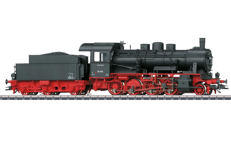 Märklin 37518 Güterzug-Dampflok BR 56 der DB / Spur H0 / mfx+ / Sound / Epoche III