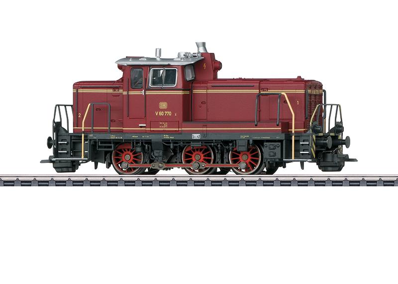 Märklin 37861 Diesel-Rangierlok BR V 60 der DB / Spur H0 / mfx+ / Sound / Epoche III