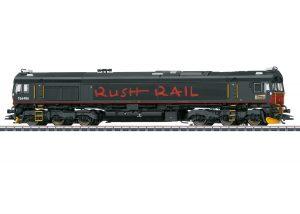 Märklin 39068 Diesellok Class 66 RushRail, Spur H0, mfx+, Sound, Ep. VI