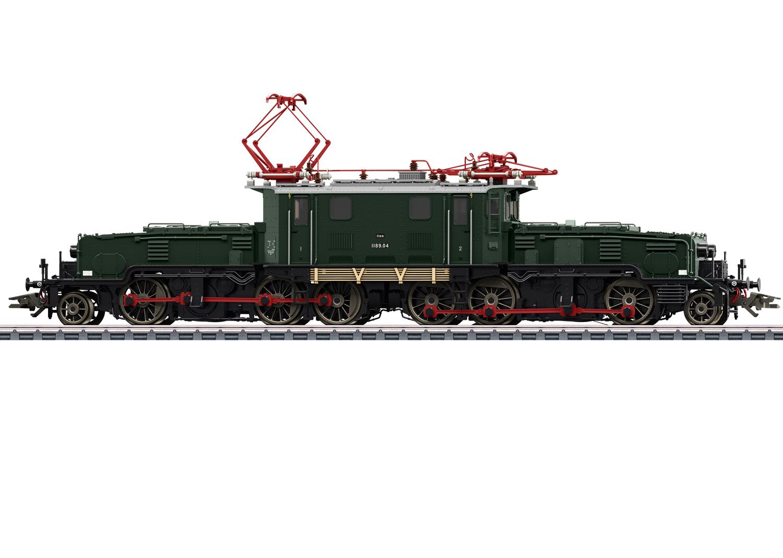 Märklin 39089 E-Lok Reihe 1189 der ÖBB / Spur H0 / mfx+ / Sound / Epoche IV