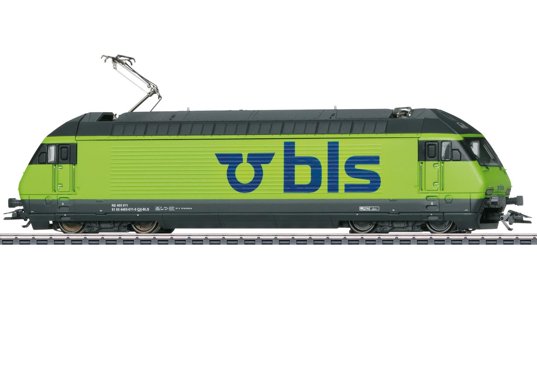 Märklin 39462 E-Lok Re 465 der BLS / Spur H0 / mfx+ / Sound / Epoche VI