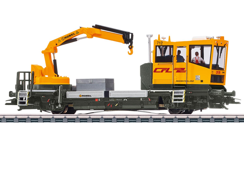 Märklin 39544 Gleiskraftwagen Robel der CFL / Spur H0 / mfx+ / Sound / Epoche VI