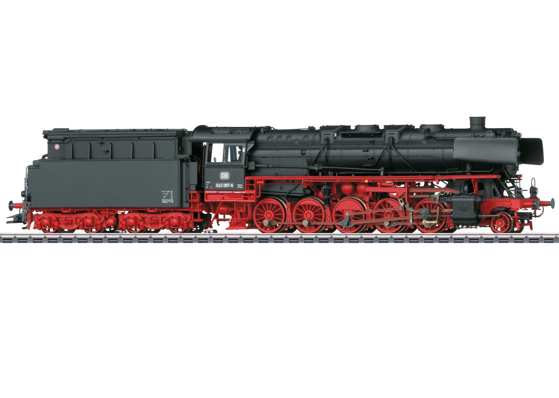 Märklin 39884 Güterzug-Dampflok BR 043 Öl der DB / Spur H0 / mfx+ / Sound / Epoche IV