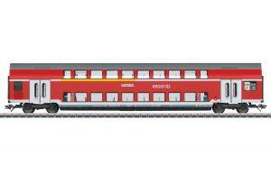 Märklin 43567 Doppelstockwagen 1./2.Kl. der DB / Spur H0 / Epoche VI