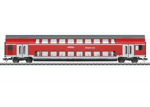 Märklin 43568 Doppelstockwagen 2.Kl. der DB / Spur H0 / Epoche VI
