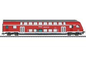Märklin 43569 Doppelstock-Steuerwagen 2.Kl. der DB / Spur H0 / Epoche VI