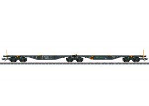 Märklin 47813 Doppel-Containertragwagen Sggrss der MFD Rail GmbH / Spur H0 / Epoche VI