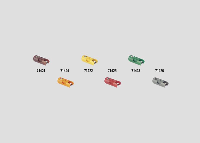 Märklin 71425 Muffe rot (Inh.10 Stück)