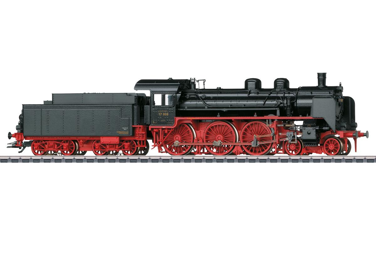 Märklin 37197 Dampflokomotive Baureihe 17 / Epoche II / Spur H0 / mfx+