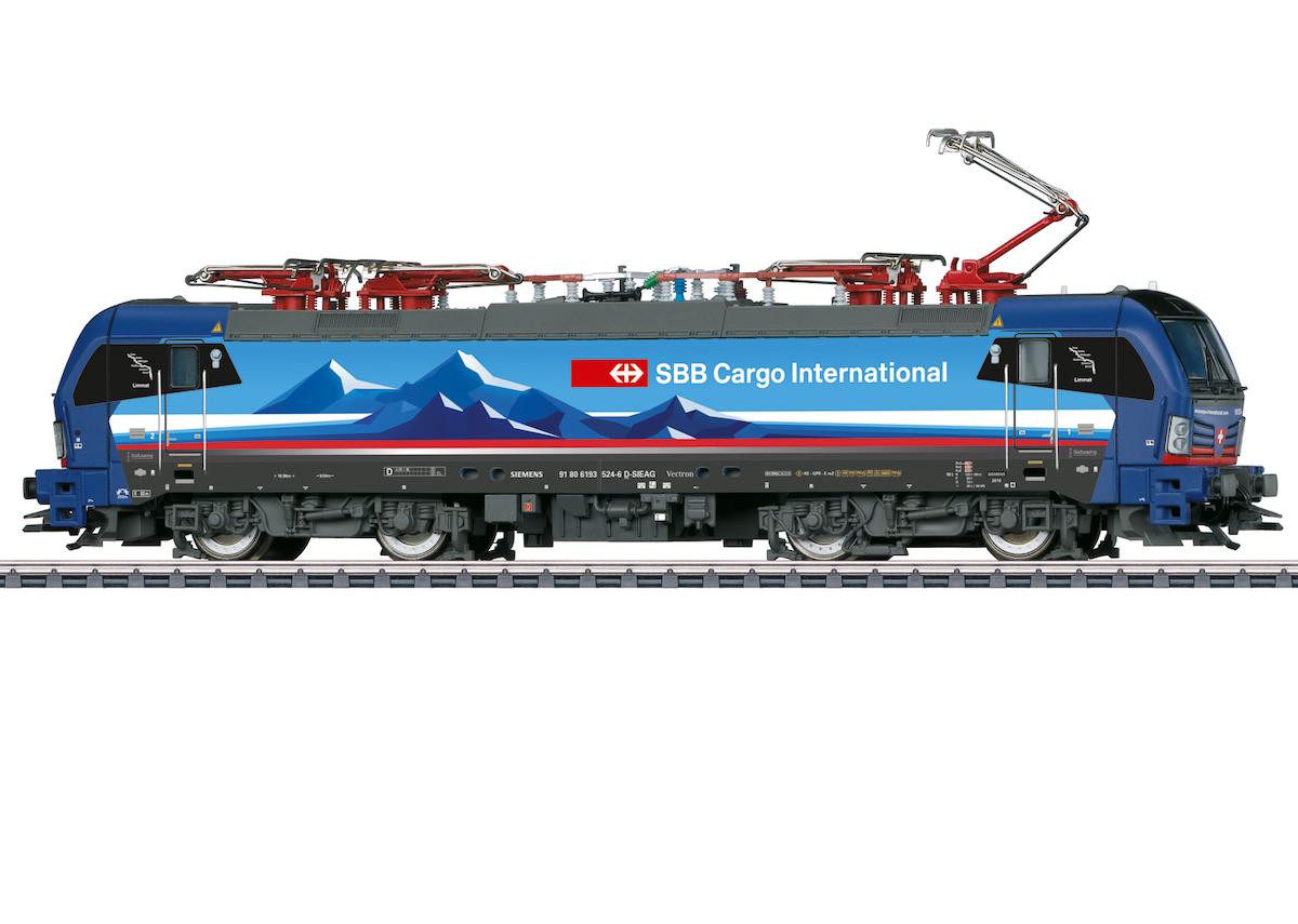 Märklin 39199 Elektrolokomotive Baureihe 193 SBB Cargo International / Spur H0 / mfx+