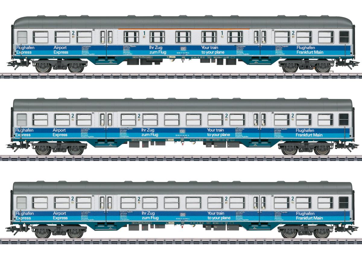 "Märklin 43815 Personenwagen-Set ""Airport Express"" / Epoche IV / Spur H0"