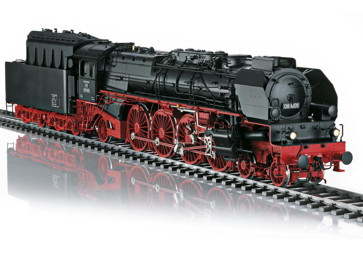 Märklin 55081 Dampflokomotive Baureihe 08 der DR / Spur 1 / mfx / DCC / Sound