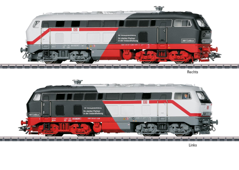 Märklin 39187 Diesellok 218 497-6 DB AG FZI  / Spur H0 / Sonderneuheit