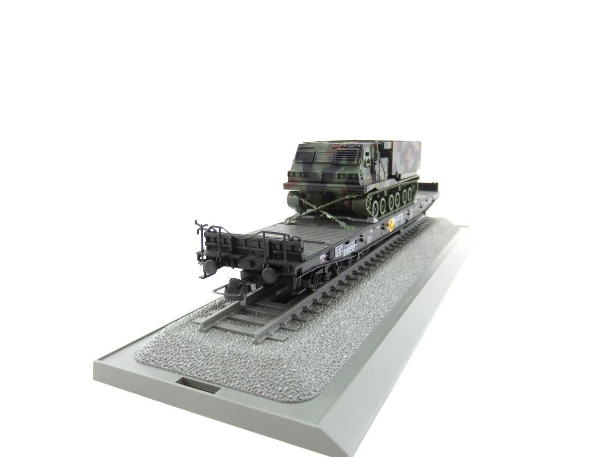(SVH323) Roco 826 H0  Raketenwerfer MLRS/MARS auf Samms 710 OVP