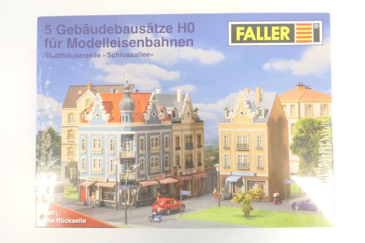 (KNM300) Faller H0 Schloßallee (5 Gebäudebausätze) OVP