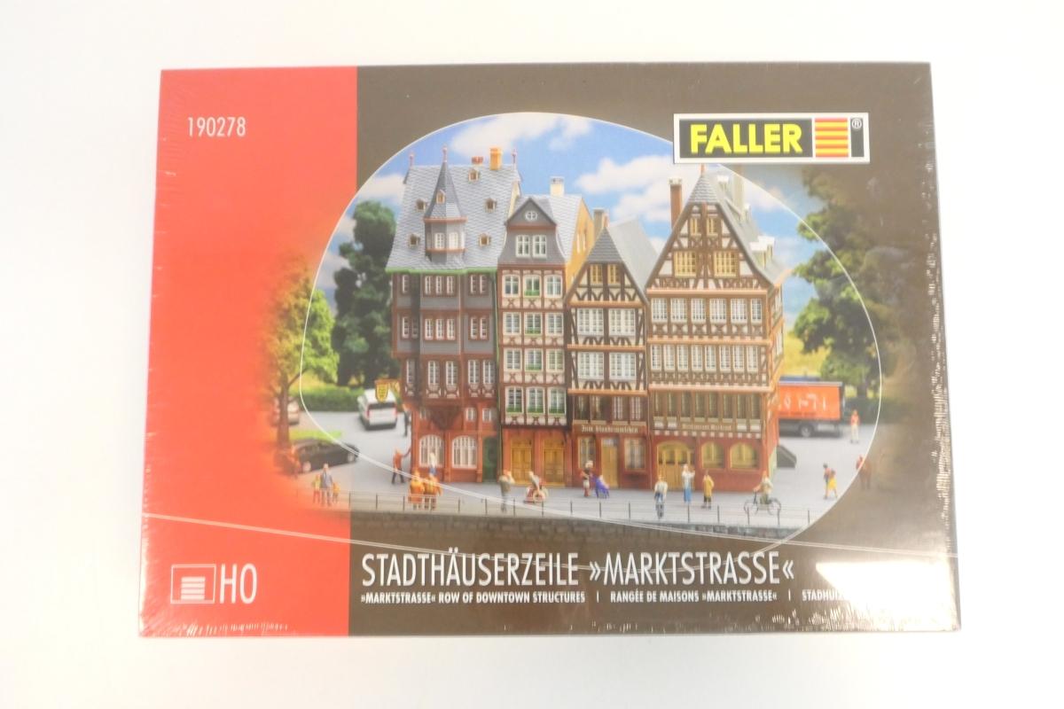 (KNM302) Faller 190278 H0 Stadthäuserzeile Marktstraße OVP