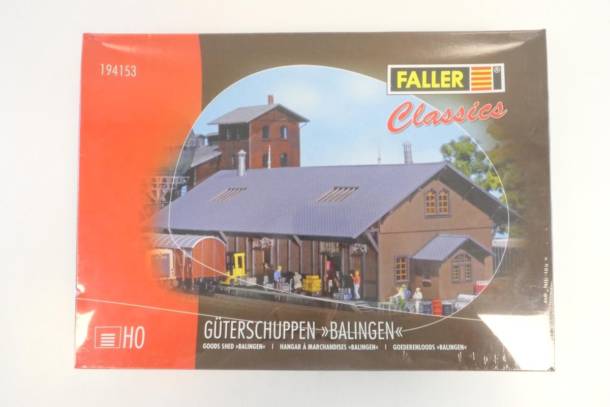 (KNM303) Faller 194153 H0 Bausatz Güterschuppen Balingen OVP