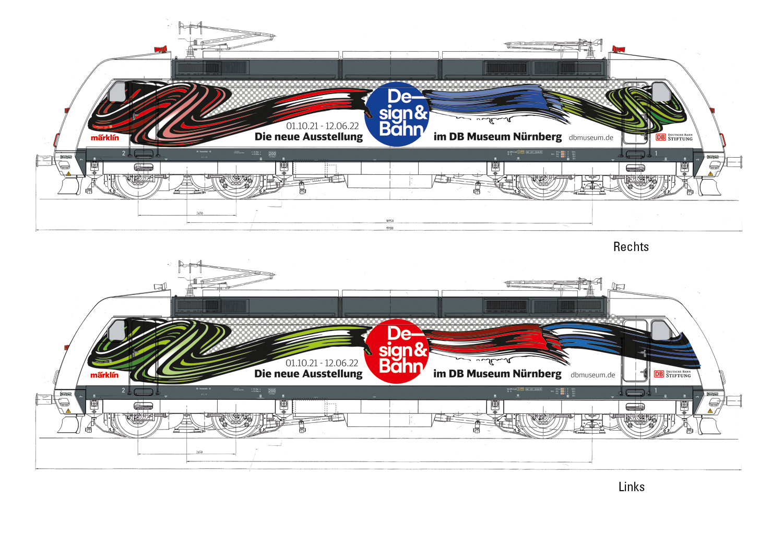 Märklin 39379 E-Lok BR 101, Design&Bahn / Epoche VI / Spur H0